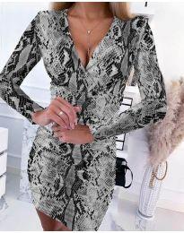 Šaty - kód 6465 - 3 - vícebarevné