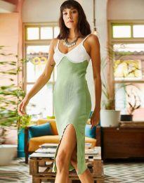 Šaty - kód 1036 - světle zelená