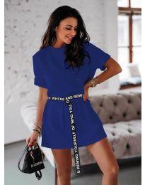 Šaty - kód 809 - tmavě modrá