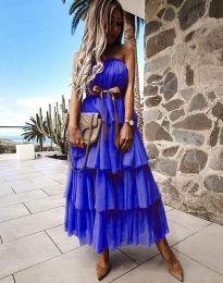 Šaty - kód 1543 - tmavě modrá
