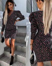 Šaty - kód 2055 - 2 - černá
