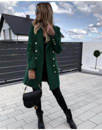 Kabát - kód 189 - zelená
