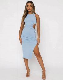 Šaty - kód 11937 - světle modrá