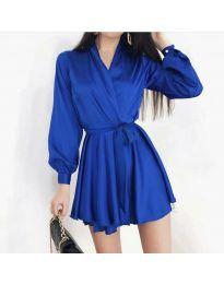 Šaty - kód 8745 - tmavě modrá