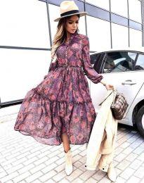 Šaty - kód 9660 - 4 - barevné