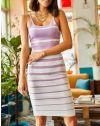 Šaty - kód 0998 - fialová